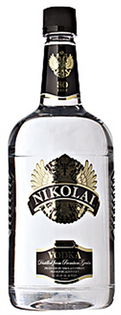 Nikolai Vodka 80@ 1.00l - Case of 12